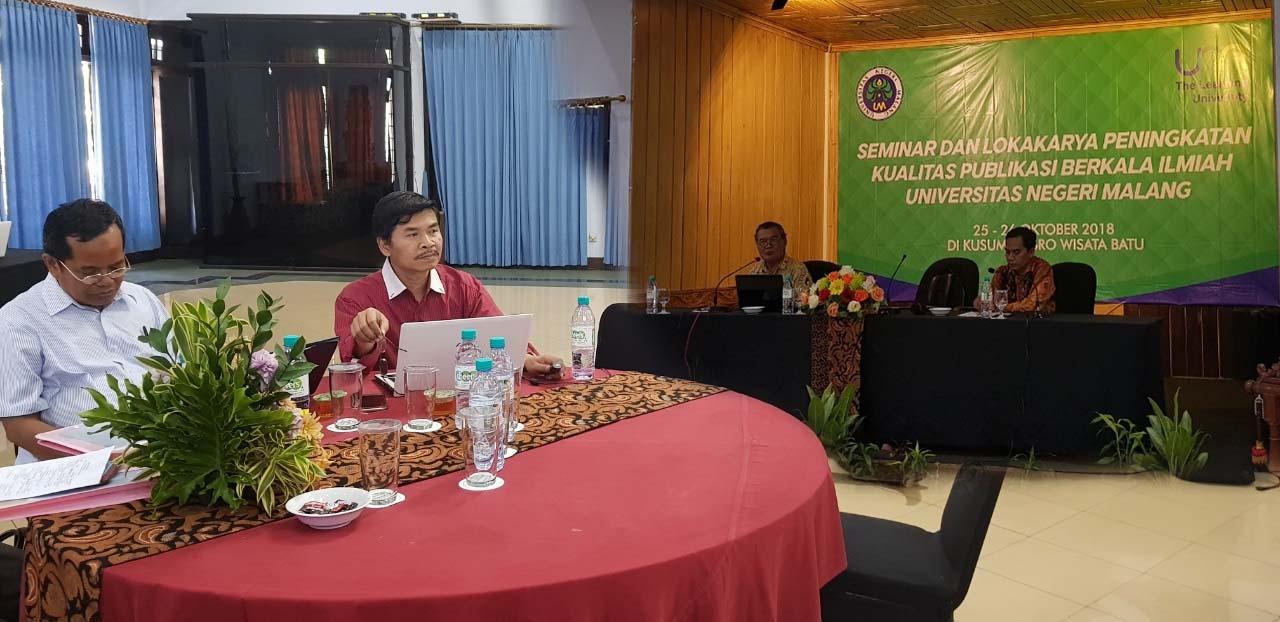 Seminar dan Lokakarya Peningkatan Kualitas Publikasi Berkala Ilmiah